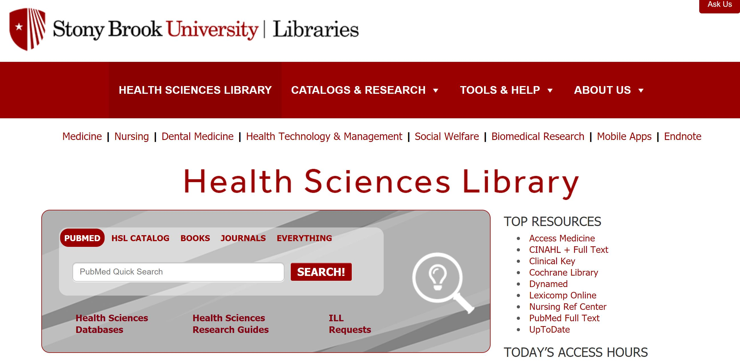 health science library