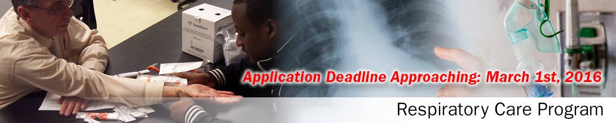 Respiratory therapist admission essay