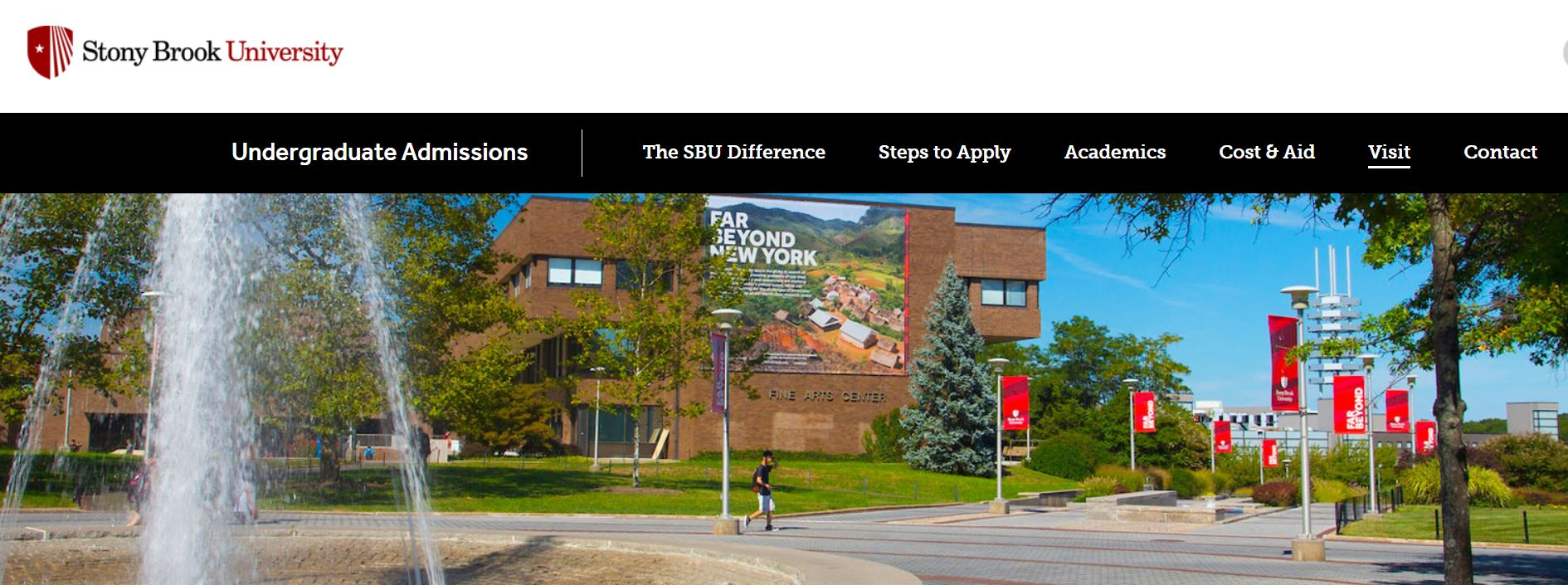 stony brook university home page