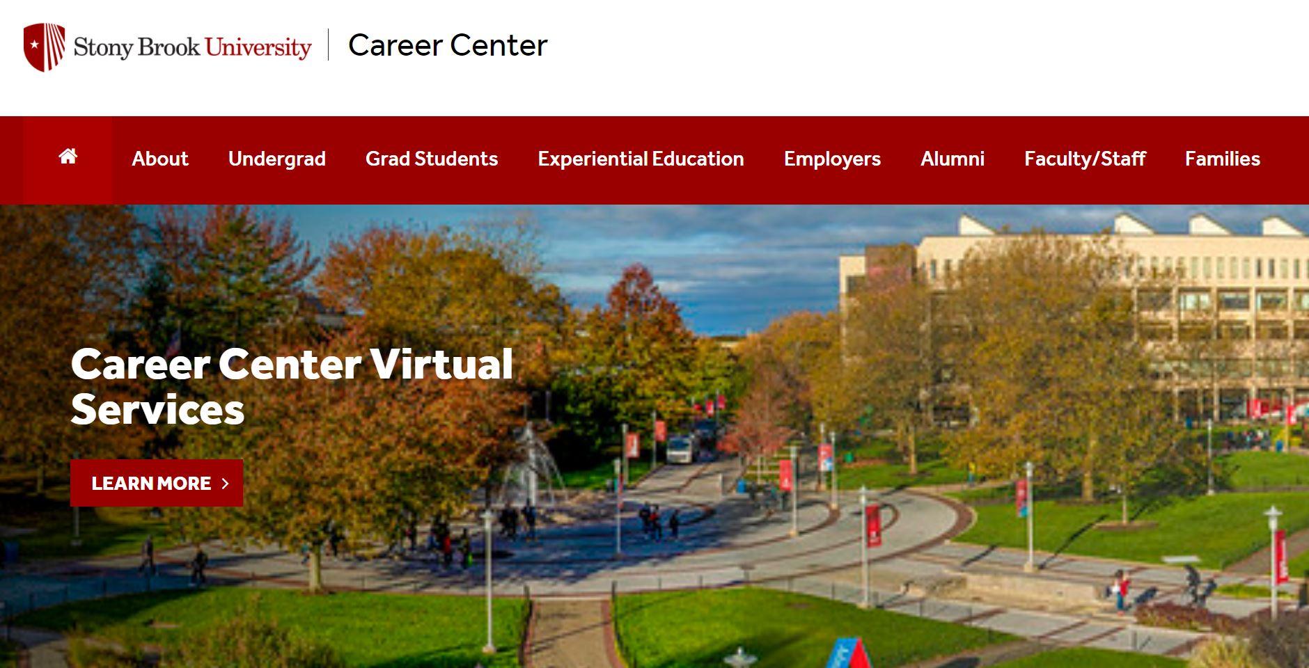 career center website