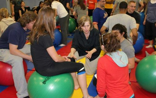 Physical Therapy Program students learning